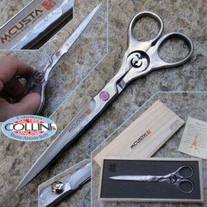 Mcusta - Mod. Crane professional scissors in VG-10 Damascus - DDC-170D