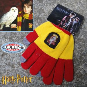 Harry Potter - Gryffindor Gloves Yellow / Red - Cinereplicas