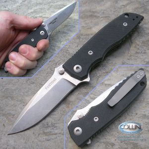 Fantoni - HB02 Flipper Folder by William Harsey - Black G10 - Knife