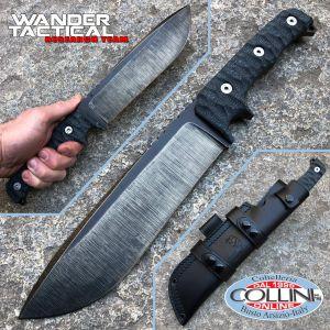 Wander Tactical - Dimorphodon - Raw Finish & Brown Micarta - craft knife