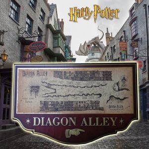 Harry Potter - Diagon Alley Map Plate - NN7058 - official product
