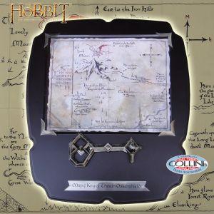 The Hobbit - Thorin Oakenshield key and map of Erebor NN1212 - The Hobbit