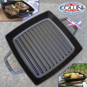 Staub - 28cm Square Cast Iron Double Handle Grill Pan
