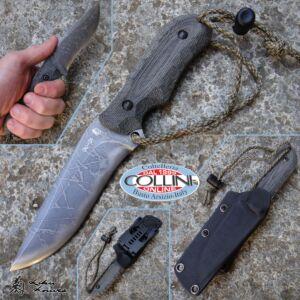 Kiku Matsuda Knives - Aoba Fixed Blade Knife - craft knife