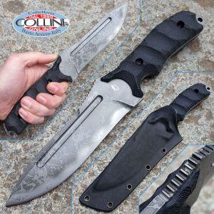 Kiku Matsuda Knives - Blast Fixed Blade - custom knife