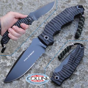 Pohl Force - Alpha Four - Survival Serrated Edge - 1045 - knife
