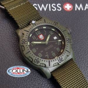 Luminox Watches - Black OPS PC Carbon Green Nato 8817.GO - 8800 Series