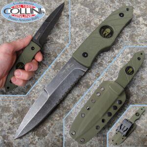 Hoffner - Hand Spear Molon Labe Green HS-S5CBK-FO - knife