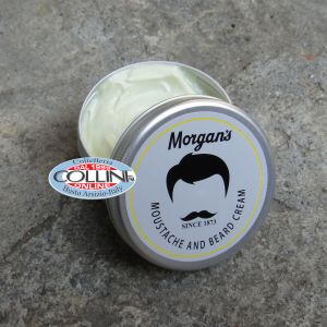 Morgan's - Moustache and Beard Cream - Made in UK