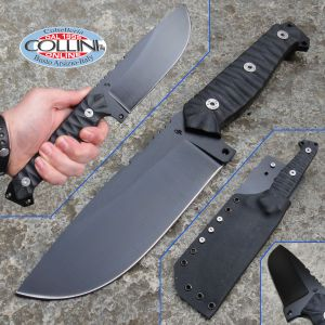 Wander Tactical - Megalodon 1.0 Full Black - custom knife