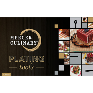 Mercer Culinary  - 6 Piece Silicone Brush Plating Set