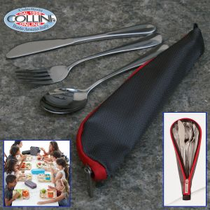 Valira - Cutlery with steel housing 3 pieces - Spring Promotion
