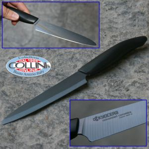 Kyocera - Ceramic Kyo End Black - Micro Utility Knife cm . 12.5 ceramic knife