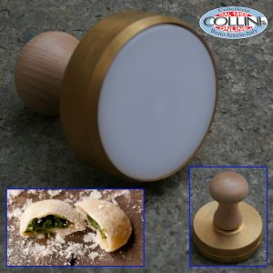 Made in Italy - Mold smooth for anolini / tortelli 8 cm.- kitchen