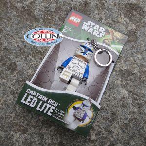 LEGO Star Wars - Capitano Rex - Portachiavi LED - torcia a led