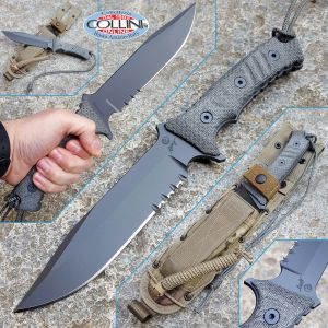 Chris Reeve - Pacific by W. Harsey - black canvas micarta - knife
