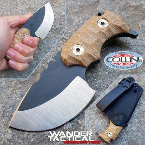 Wander Tactical - Tryceratops - Dual Tone & Desert Micarta - custom knife