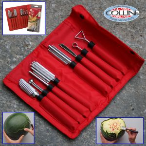 Triangle - Carving Tool Set - Special - 8-piece -2