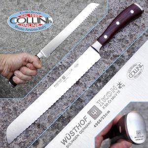 Wusthof Germany - Ikon - Bread Knife 23cm. - 4966/23 - kitchen knife