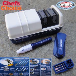 Chef's Choice - M710 White and Blue Diamond Hone Marine Sharpening Station