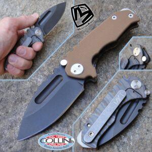 Medford Knife and Tools - Micro Praetorian G / T Desert D2 - knife