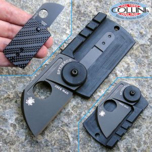 Spyderco - Dog Tag Carbon Fiber - C188CFBBK - knife
