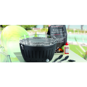 Lotus Grill - Glas hood with Thermostat for  Lotus Grill