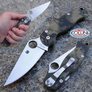 Spyderco - Para Military 2 - G10 Camo - C81GCMO2 - knife