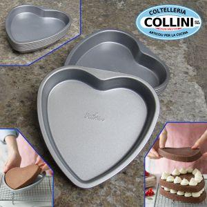 Decora - Heart layered cake mold set