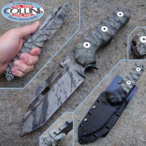 Wander Tactical - Hurricane Military Tool - Black Blood - custom knife