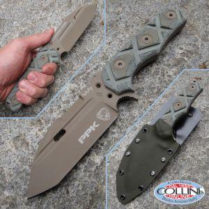 Wander Tactical - Hurricane Military Tool - PPK Desert - custom knife