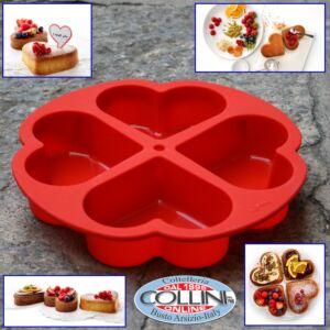 Lékué - Heart Cake Portion Mould