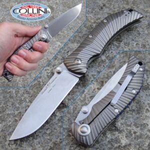 Fox / Wilson Combat - ELC Elite - Titanium Starburst - FX-121TI - knife