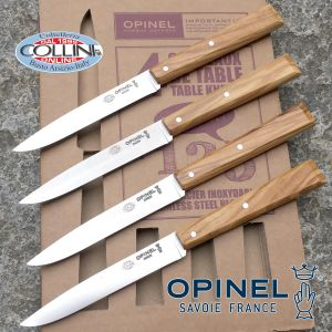 Opinel - Number. 125 South Esprit - Set of 4 table knives