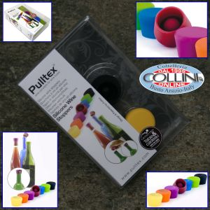 Pulltex -  Silicone stopper for wine (2 pieces)