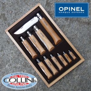 Opinel - Display Glass Collection 10-piece stainless steel blade - knife
