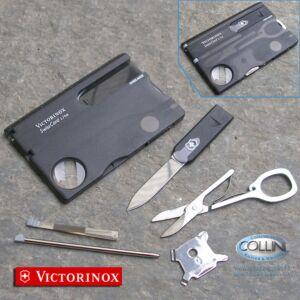 Victorinox - SwissCard Lite Black 14 usi - 0.7333.T3 - coltello multiuso
