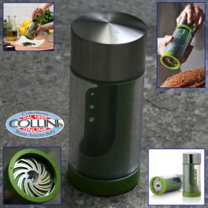 Microplane - Herb Mill  2 in 1- Stainless Steel
