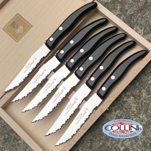 Claude Dozorme - Set 6 coltelli Berlingot Noir - coltelli da tavola