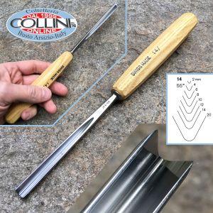 Pfeil - Gouges n.14 U Parting tools, straight shank - carving tools