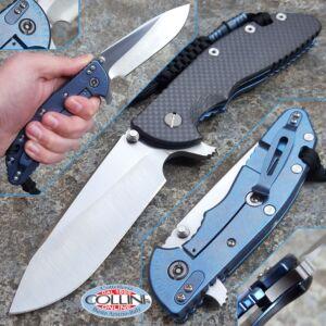 Hinderer Knives - XM-24 - Custom Grind Slicer - Carbon Fiber with Anodized Titanium - custom knife