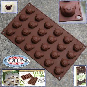 Silikomart - Silicone mold for chocolates Mod. Choco Panda