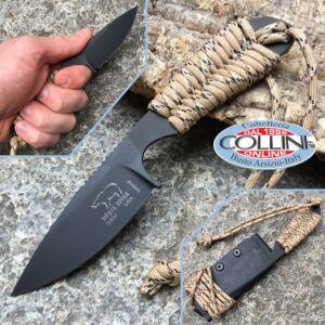 White River Knife & Tool - BackPacker Black - Desert Paracord - knife