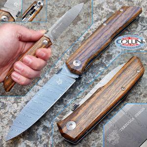 Fox - Terzuola - Damascus and Bocote - FX-525DB - knife