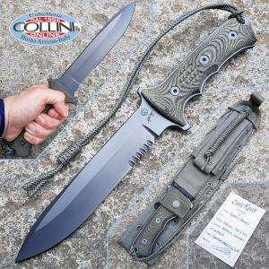 """Chris Reeve - Green Beret Combat Knife 7 """"- Mint Condition - Production Year 2011 -"""