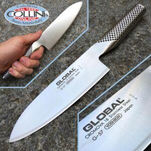 Global knives - G57 - Santoku 16cm - vegetable kitchen knife