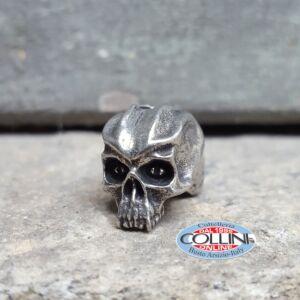 Schmuckatelli - Ciondolo Fermafilo - Cyber Skull Bead - Gadget