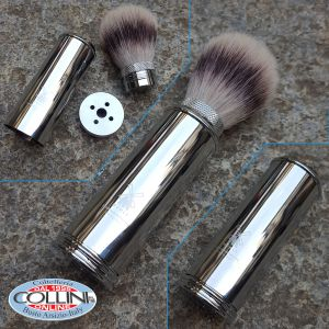 Muhle - travel shaving brush in badger hair - Inox 31M20 - shaving