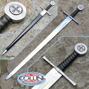 Museum Replicas Windlass - Battle Sword in a hand 501000 - battle ready