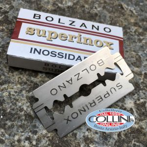 Bolzano - 5 stainless steel blades for Shavette - razorblade